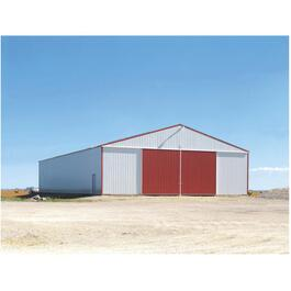 32' x 48' x 12' Post Frame Farm Building Package thumb