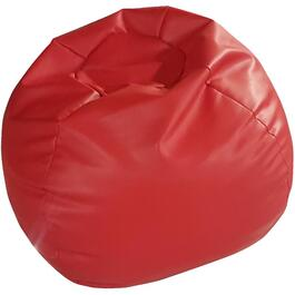 Red Polyurethane Beanbag Chair thumb