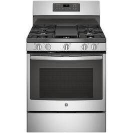 "30"" Stainless Steel Convection Self Cleaning Gas Range thumb"