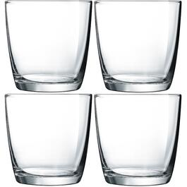 4 Pack 10-1/2oz Atlas Double Old Fashion Tumbler Set thumb