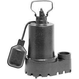 1/3 Horse Power Cast Iron Sump Pump, with Switch thumb
