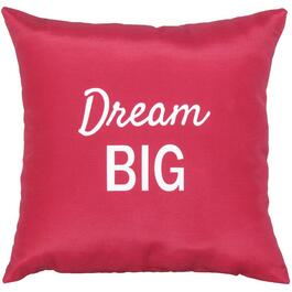 "16"" Square ""Dream Big"" Throw Pillow thumb"