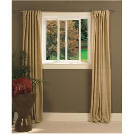 "36"" x 24"" Poly Vinyl Low-e Slider Window, with Brickmould thumb"
