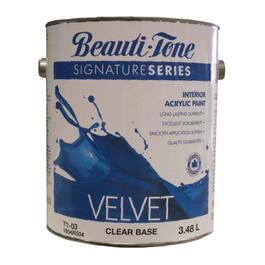 3.40L Clear Base Velvet Finish Interior Latex Paint thumb