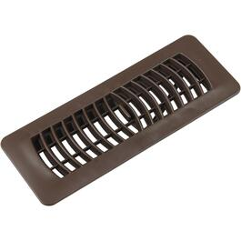 "3"" x 10"" Brown Poly Floor Diffuser thumb"