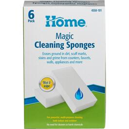 6 Pack Magic Cleaning Eraser Sponges thumb