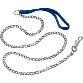 4' Fine Chain Dog Leash thumb