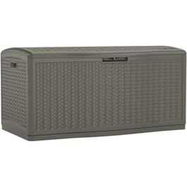 124 Gallon Grey Storage Deck Box thumb