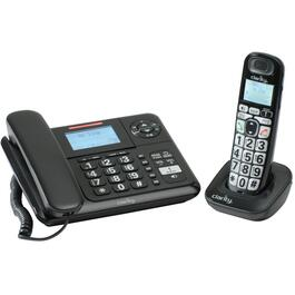 2 Pack Cord/Cordless Amplified Answerphones, with Caller Identification thumb