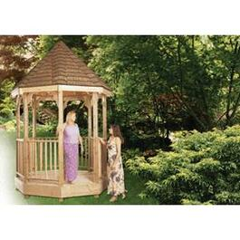 12' x 12' Cedar Octagon Gazebo Package thumb