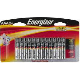 24 Pack Max Alkaline AAA Batteries thumb