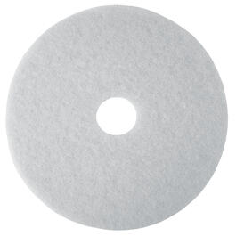 "5 Pack 20"" White Floor Buffing Pads thumb"