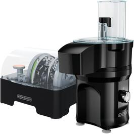 150 Watt 10 Cup Black Slice 'N' Dice Food Processor thumb