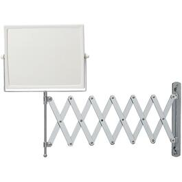 Chrome Square Wall Mount Extension Mirror thumb