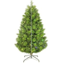 7.5' Scotch Pine Christmas Tree, with 350 Colour Changing LED Lights thumb