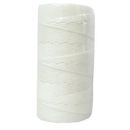 250' White Braided Nylon #18 Mason Line thumb
