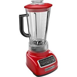 550 Watt 5 Speed Empire Red Blender, with Plastic Jar thumb