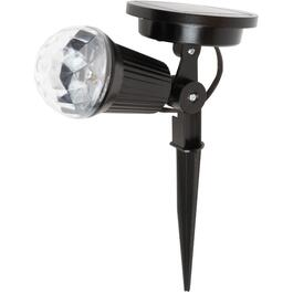 Multi Colour LED Solar Kaleidoscope Spotlight thumb