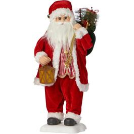 "24"" Animated Santa Claus Figure thumb"