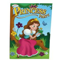 96 Page Girls Colouring Book, Assorted Princesses thumb