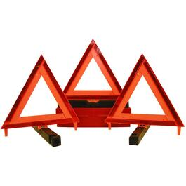 3 Piece Emergency Triangle Marker thumb