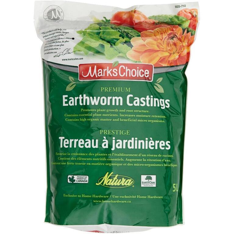 MARK'S CHOICE 5L Organic Worm Castings