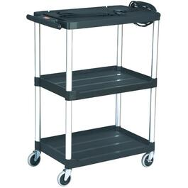 200lb Capacity Audio/Visual Cart, with Casters thumb