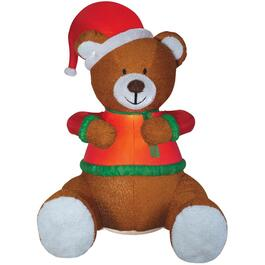 8-1/2' Outdoor Inflatable Airblown Teddy Bear Figure thumb