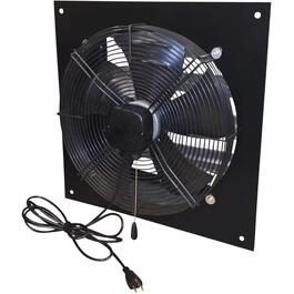 "16"" 1/8 Horse Power 115 Volt 3 Speed Commercial Duty Exhaust Fan thumb"