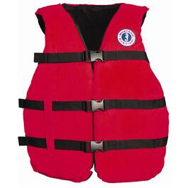 Red Universal Adult's PFD thumb