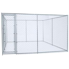 2 in 1 Chain Link Dog Kennel thumb
