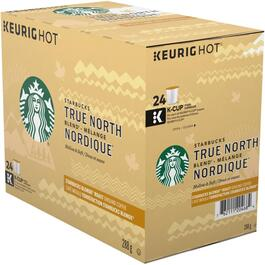 24 Pack Single Serve True North Blend Coffee K-Cup® Pods thumb
