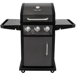Gun Metal Finish 3 Burner 507 sq. in. 36,000BTU Propane Barbecue thumb