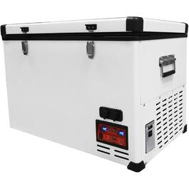 2.8 cu. ft. White Solar Powered Fridge/Freezer thumb