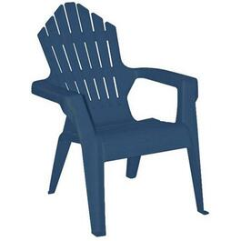 Child's Waterloo Blue Resin Adirondack Chair thumb