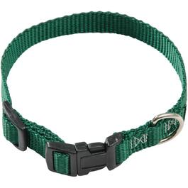 "10-14"" x 5/8"" Adjustable Dog Collar, Assorted Colours thumb"