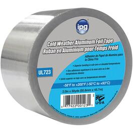 50.8mm x 45.7M Cold Weather Aluminum Foil Duct Tape thumb