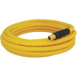 "1/4"" x 50' x 1/4"" National Pipe Thread Technopolymer Yellow Air Hose thumb"