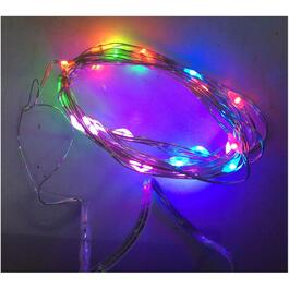 25 LED Multi Colour Dot Battery Operated Indoor Light Set thumb