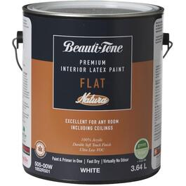 3.64L White Flat Latex Interior Paint thumb