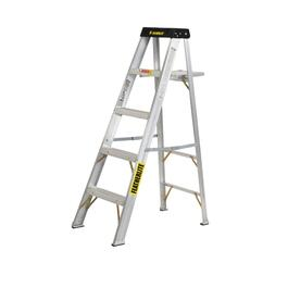 5' #1A Aluminum Step Ladder thumb