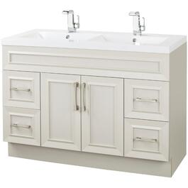 "48"" x 21"" Monroe Morning Dew 2 Door 4 Drawer Vanity thumb"