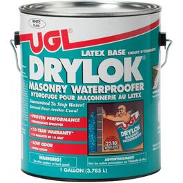 3.78L White Drylok Latex Waterproofer Paint thumb