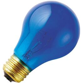 25W A19 Medium Base Blue Light Bulb thumb