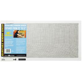 "10"" x 20-37"" Adjustable Aluminum Window Screen thumb"