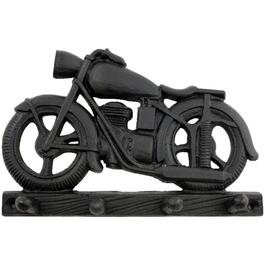 Cast Iron Motorcycle Key Rack thumb