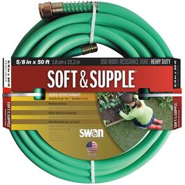 "5/8"" x 50' Soft and Supple Garden Hose thumb"