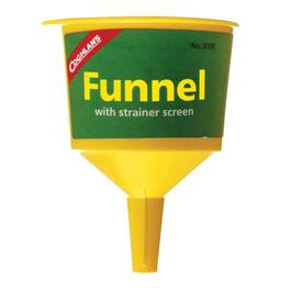 "2-1/4"" Plastic Funnel, with Strainer thumb"