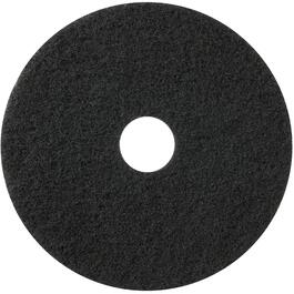 "5 Pack 17"" Black Floor Stripping Pads thumb"
