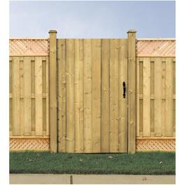 5' Pressure Treated Jasper Gate Fence Package thumb